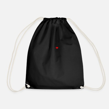 Heart Broken broken heart - Drawstring Bag