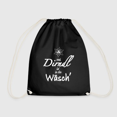 DIRNDL IS IN DA WÄSCH - Turnbeutel