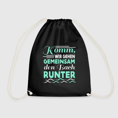 Bach Together down the spell gift - Drawstring Bag
