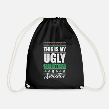 Ornamento My Ugly Christmas Sweater Funny Holiday - Mochila saco