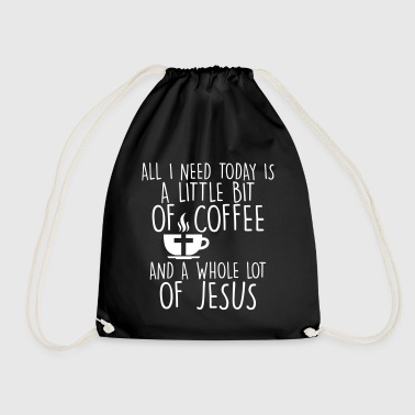 COFFE JESUS - Drawstring Bag