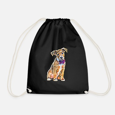 Terrier terrier - Drawstring Bag