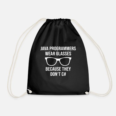 Object-oriented Programmer Java - Drawstring Bag