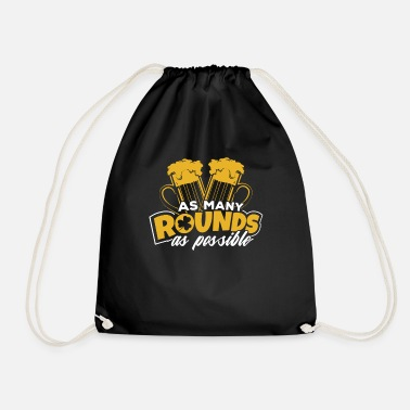 Cloverleaves St Patricks Day Shamrock Cloverleaves Irish Gift - Drawstring Bag