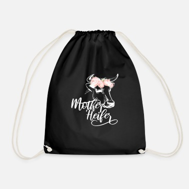 Cupid Mother Heifer Landwirtin Muttertag Mama Geschenk - Turnbeutel
