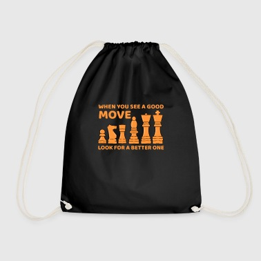 Move move - Drawstring Bag
