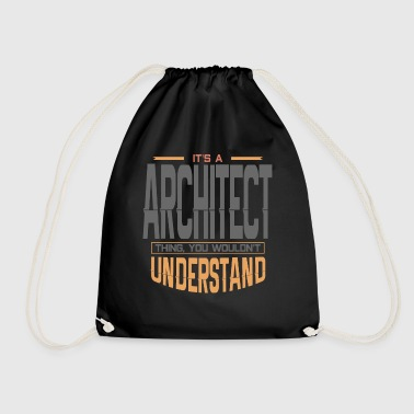 Architecture architecture - Drawstring Bag