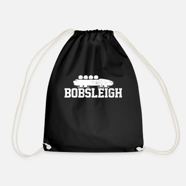 Ice Rink Bobsleigh Team Ice Rink Ice - Drawstring Bag