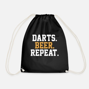 Bar Pub Dart Beer Pub Bar - Drawstring Bag