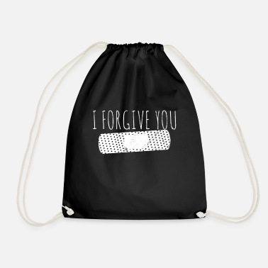 Forgiveness Sorry Forgive forgiveness - Drawstring Bag