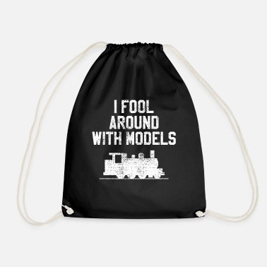 Model Railway Model Railway - Drawstring Bag