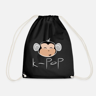 Kpop kpop monkey - Drawstring Bag