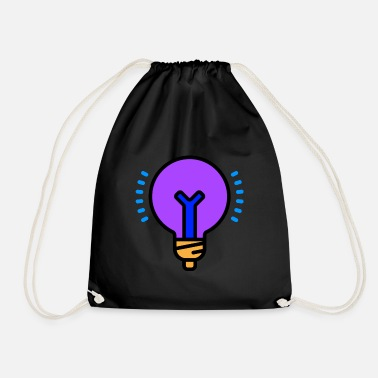 Blue Light Blue light - Drawstring Bag