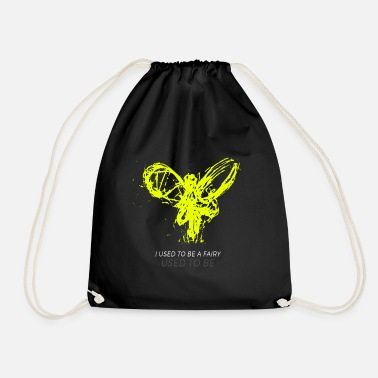 Us i used to be fairy used to be - Drawstring Bag