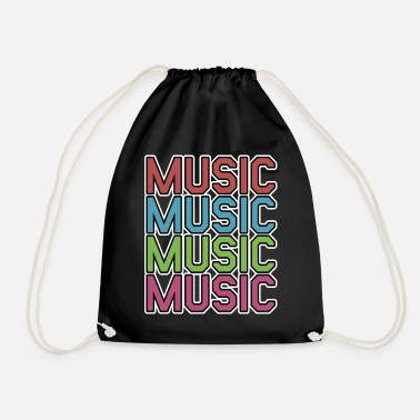 Musical Music Music Music - Drawstring Bag
