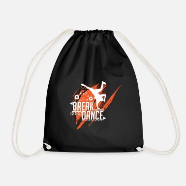 Break Dance break dancing - Drawstring Bag