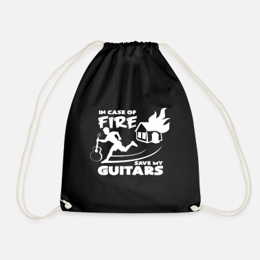 Funny &amp Guitar maker electric guitar guitar amp idea - Drawstring Bag