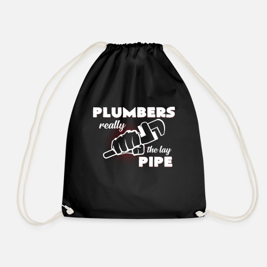Plumber Bags & Backpacks - Plumber - Drawstring Bag black