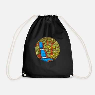 Rainforest tropics environmental protection nature climate change - Drawstring Bag