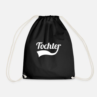Daughter daughter - Drawstring Bag