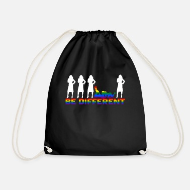 Gay Pride Gay Pride - Frauen - Be different - Turnbeutel