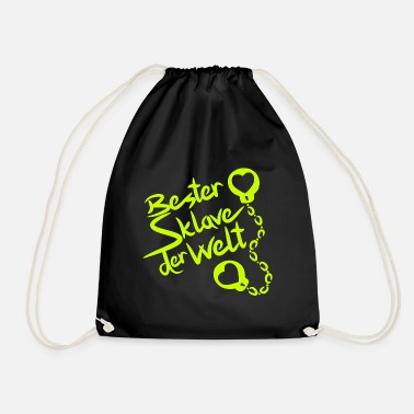 Erotic Best Slave in the World Say Erotic Sexuality - Drawstring Bag