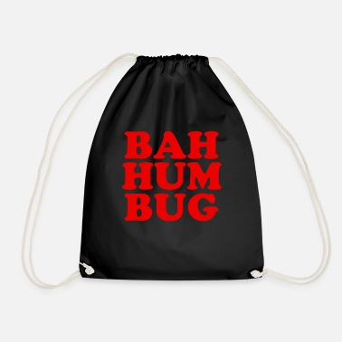 Snowball Bah Humbug-Hass Christmas Day Bah Hum Bug Tea - Drawstring Bag
