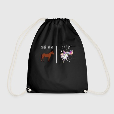Your Aunt My Aunt - Drawstring Bag