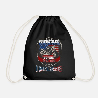 Country Country music design - Drawstring Bag