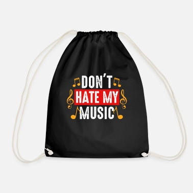 Style Of Music Music music style musician - Drawstring Bag