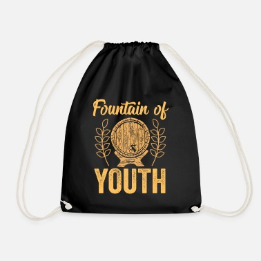 Beer Keg Beer keg of beer alcohol - Drawstring Bag