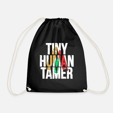 Insegnamento Tiny Human Tamer - English Teacher Shirt Mother's - Sacca sportiva