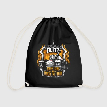 World Of Tanks Blitz Tanks Guns Rock'n'Roll - Drawstring Bag