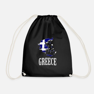 Greece Greece Greece - Drawstring Bag