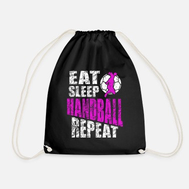 Handball Player Handball player Handball player - Drawstring Bag