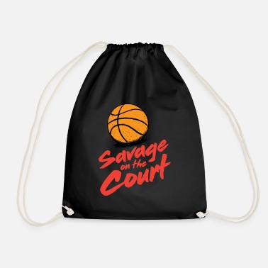 Court Brutal on the court - Drawstring Bag