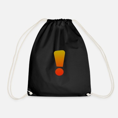 Exclamation Mark exclamation mark - Drawstring Bag