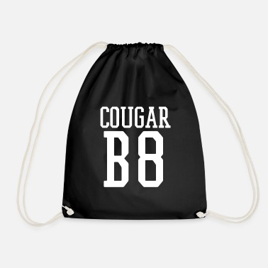 Cougar Cougar B8 (Bait) Funny Team Jersey On the Prowl - Drawstring Bag