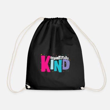 Birthday Kids Birthday Kid - Drawstring Bag