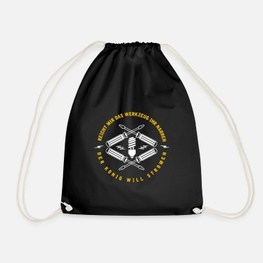 Electrician Electrician - Drawstring Bag