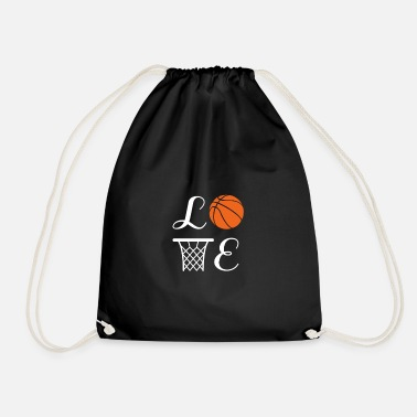Basket Basketball Player Team Mom Coach Gift - Drawstring Bag