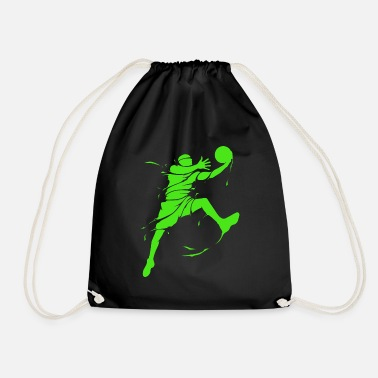 Basketball Basketballer basketball player basketball gift - Drawstring Bag