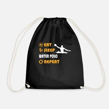 Water Polo Water polo - present for men and women - Drawstring Bag