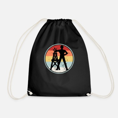 Driller Driller RETRO COLLECTION - Drawstring Bag