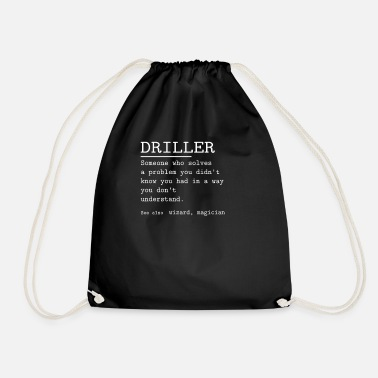 Driller DRILLER - Drawstring Bag