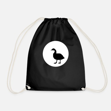 Cuckoo Goose and Moon T-SHIRT - Drawstring Bag
