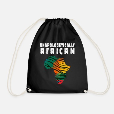 Gedenktag unapologetically african - Turnbeutel