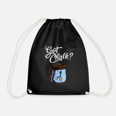 Chalk Got Chalk - Drawstring Bag