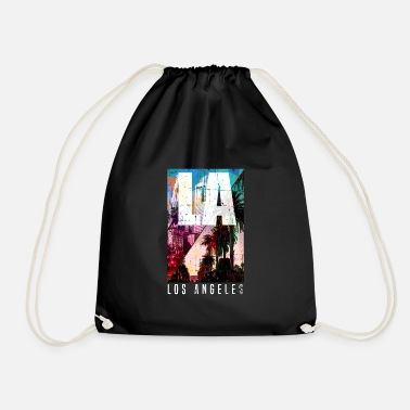 Los Angeles los Angeles - Drawstring Bag