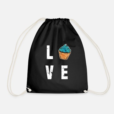 Baked Goods Cupcake muffin baked goods pastry baking gift - Drawstring Bag